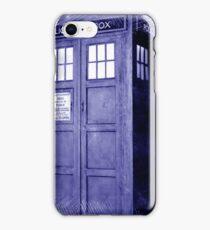 Blue Box Hoodie / T-shirt iPhone Case/Skin