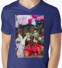Hoppy Easter! Men's V-Neck T-Shirt
