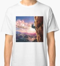 Breath of the Wild Link climbing Classic T-Shirt
