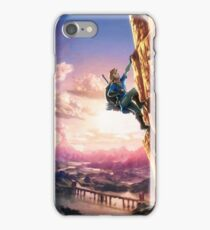 Breath of the Wild Link climbing iPhone Case/Skin