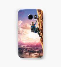 Breath of the Wild Link climbing Samsung Galaxy Case/Skin