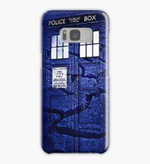 Scratch Blue Box Hoodie / T-shirt Samsung Galaxy Case/Skin