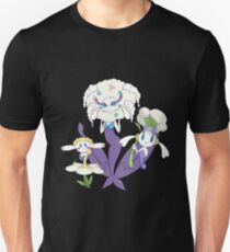Pokemon Flabebe Floette & Florges Shiny (White Flower) Unisex T-Shirt