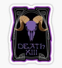 Death - Tarot Sticker