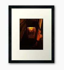 Pinheads End Framed Print