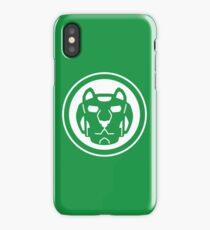 Green Lion iPhone Case/Skin