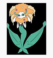 Pokemon Florges (Orange Flower) Photographic Print
