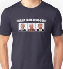 Obama Lama Ding-Dong Unisex T-Shirt