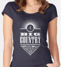 Big Country Crossing Women's Fitted Scoop T-Shirt