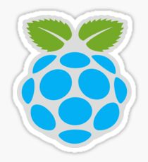 Blue Raspberry Sticker