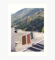 Las Alpujarras, Spain 2006 Art Print