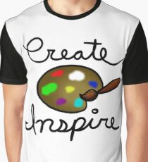Create and Inspire Graphic T-Shirt