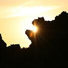 Rock Eating Sun by coopphoto