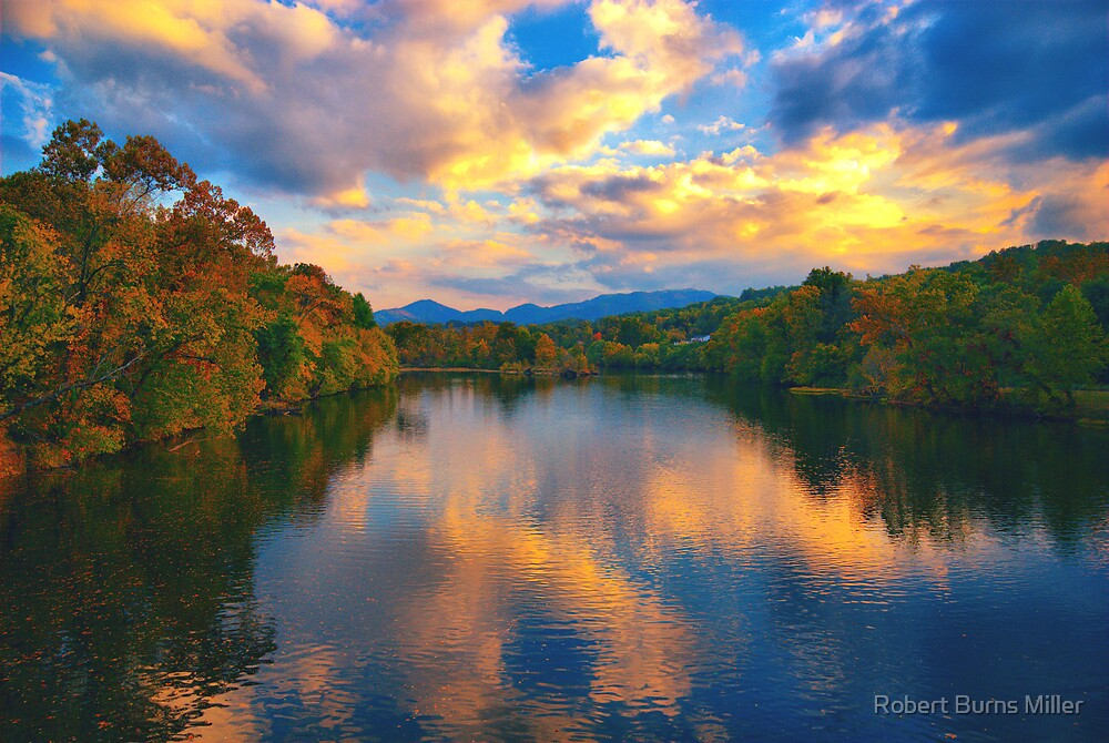 Beauty in the clouds by Robert Burns Miller