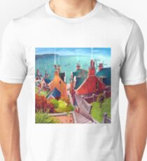 Sea houses. Gardenstown. Unisex T-Shirt