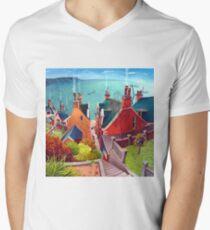 Sea houses. Gardenstown. T-Shirt