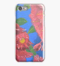 Red flowering gums iPhone Case/Skin