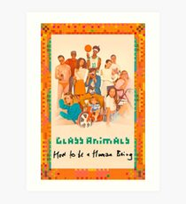 Glass Animals How To Be A Human Being Art Print