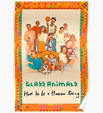 Glass Animals How To Be A Human Being Poster