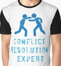 Conflict Resolution Expert Graphic T-Shirt