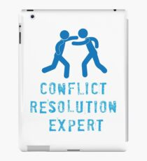 Conflict Resolution Expert iPad Case/Skin