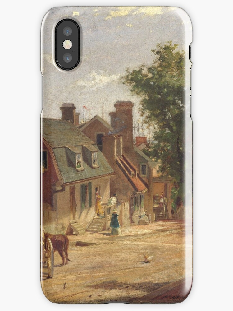 Francis Blackwell Mayer - Old Annapolis, Francis Street by artcenter