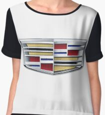 Cadillac logo (car) Women's Chiffon Top