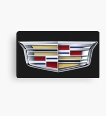 Cadillac logo (car) Canvas Print