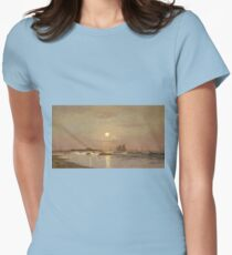 Francis Augustus Silva - Ten Pound Island, Gloucester Womens Fitted T-Shirt