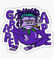 Grape Ape Sticker