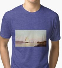 Francis Augustus Silva - October On The Hudson Tri-blend T-Shirt