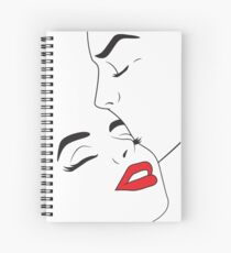 Lineart Lovers Spiral Notebook