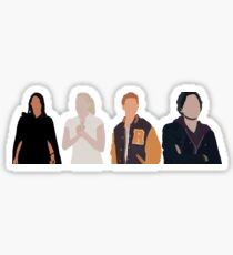 Core Four Riverdale Minimalist Sticker