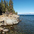 Granite Boulders Along Lake Tahoe by Jared Manninen