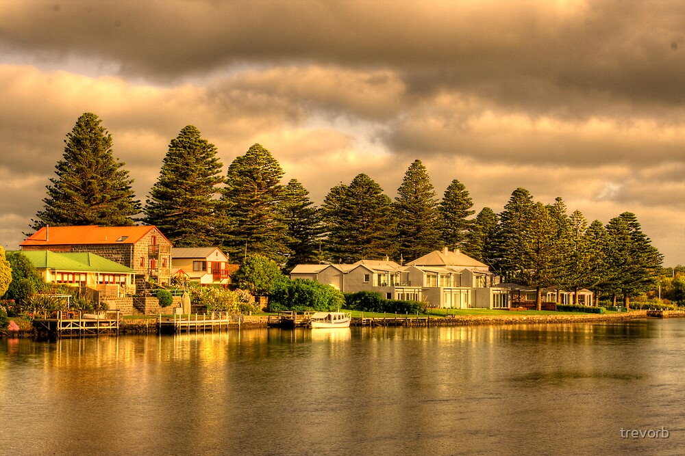 Port Fairy Marina 1 by trevorb