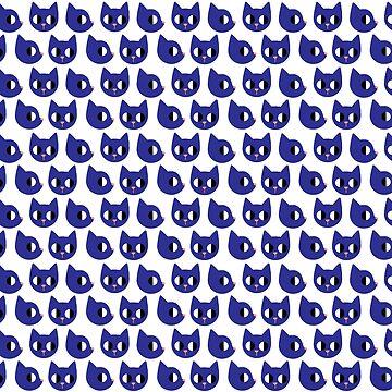 Blue Cat by hazelthexton