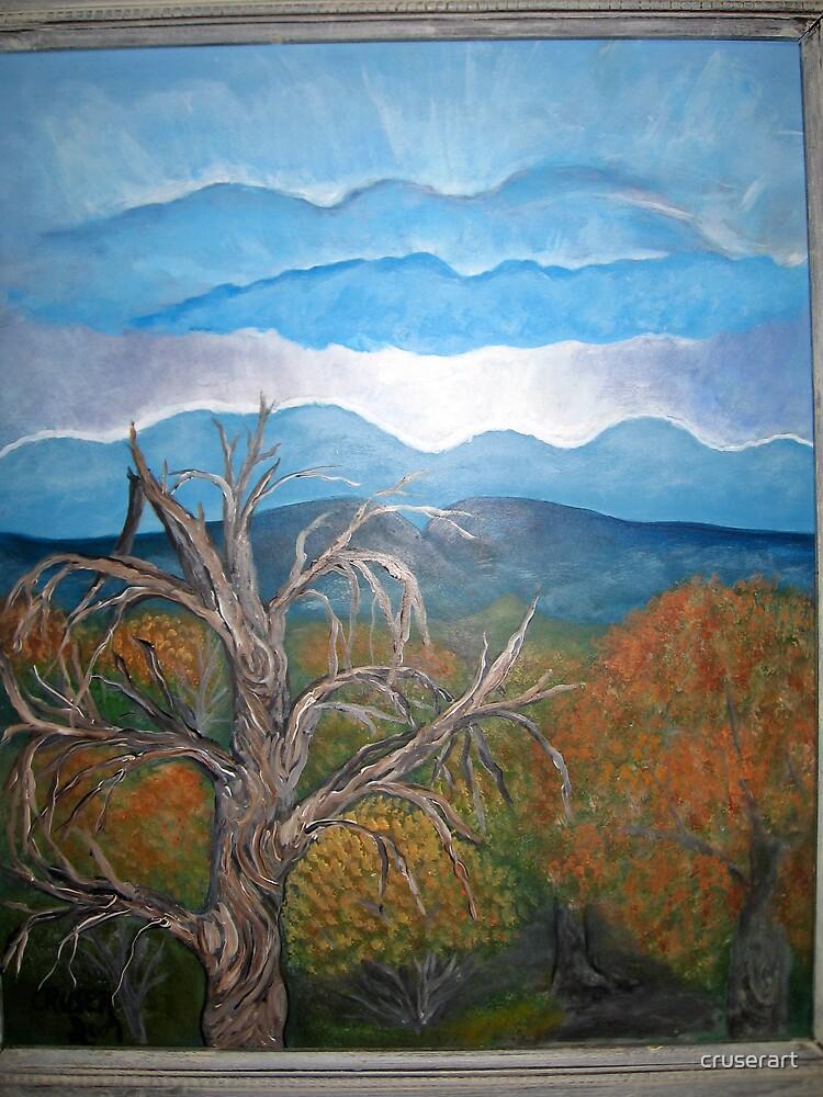 Cottonwood sunset by cruserart