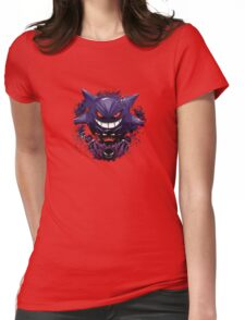 Ghost Types 1 Womens Fitted T-Shirt