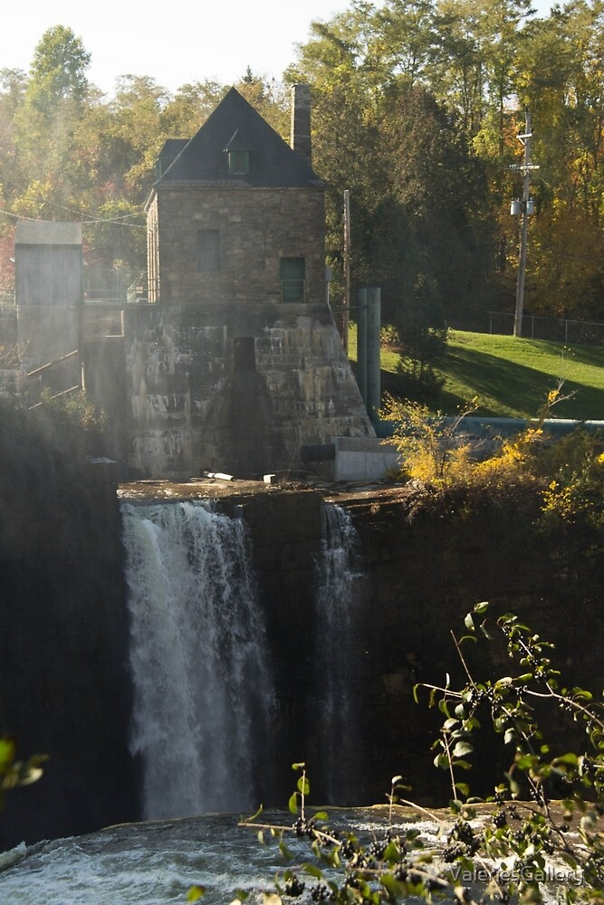 Rainbow Falls Hydroelectric Plant by ValeriesGallery