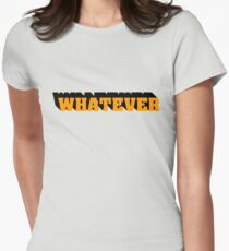 Whatever I Dont Care Teenager Gift Birthday Punk Rock Rebel T-Shirt