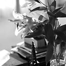 Lounge room lilies  by Margaret Stanton