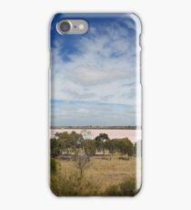 Pink Salt Lake, Victoria iPhone Case/Skin