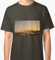 Fitz Henry Lane - Stage Fort Across Gloucester Harbor Classic T-Shirt