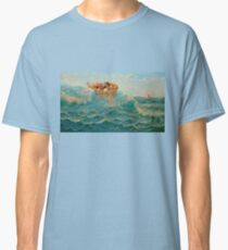 Seascape Sea Water Sky Girls  Classic T-Shirt