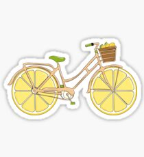 Lemon Ride Sticker