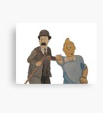 Tintin 2 Canvas Print