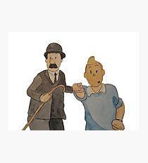 Tintin 2 Photographic Print