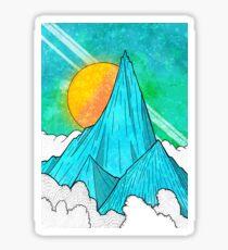 The Highest Peak Sticker