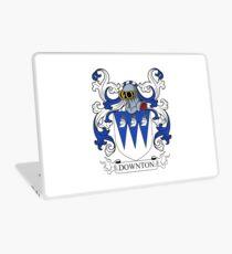 Downton Coat of Arms Laptop Skin