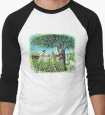 Garden of Euphoric Brisbane Men's Baseball ¾ T-Shirt